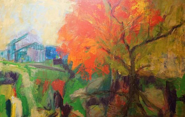 Burning Tree Art | Carmen Gambrill Art