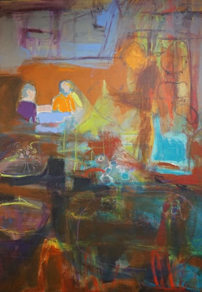 Jazz Brunch Art | Carmen Gambrill Art