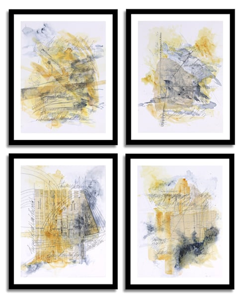 Reconstructs - Original Abstract Painting | Cynthia Coldren Fine Art