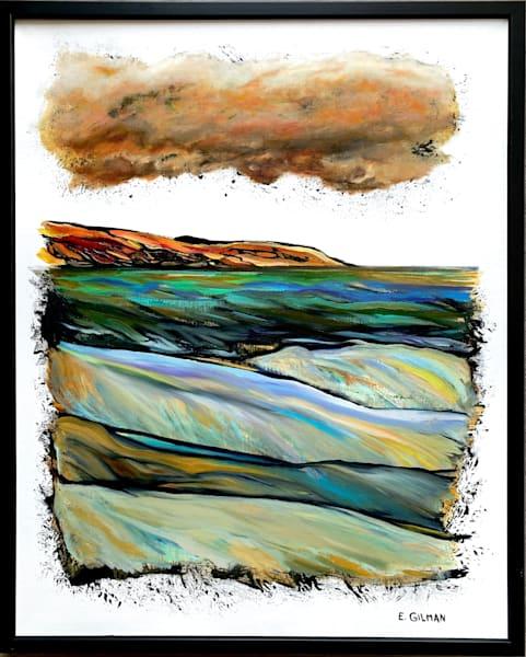 """Cumulus Congestus"" Original Artwork by Emily Gilman Beezley"