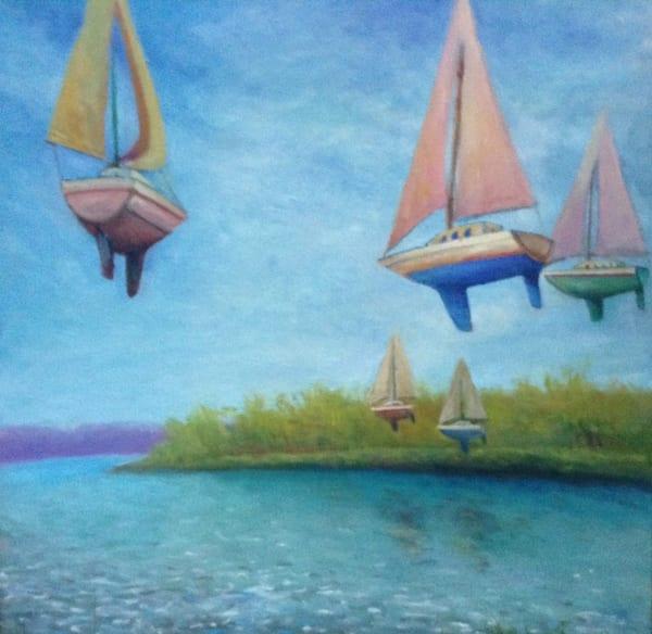 Float Boat Art   Mid-AtlanticArtists.com