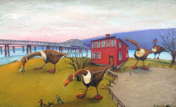 Goose Zilla Art   Mid-AtlanticArtists.com