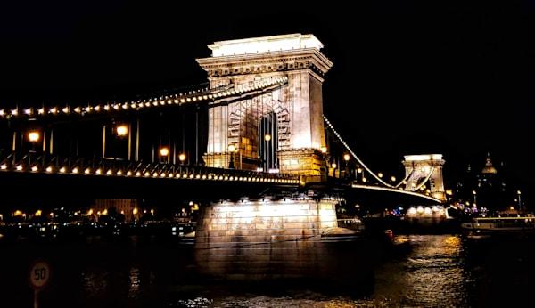 The Chain Bridge In Budapest Photography Art | Photoissimo - Fine Art Photography