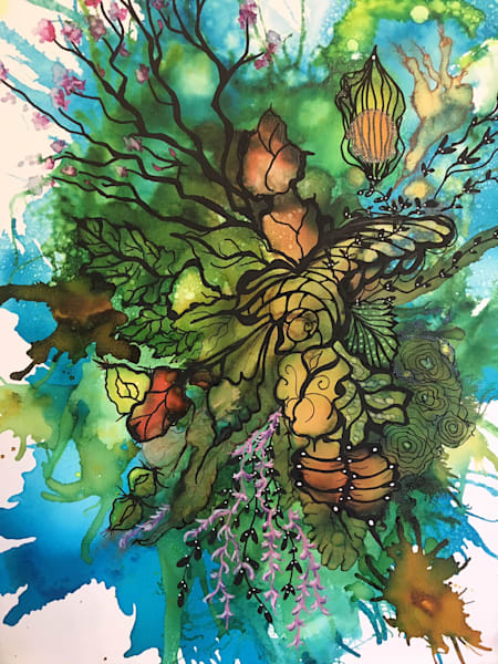 Cocoon Art | Art With Judy Ann