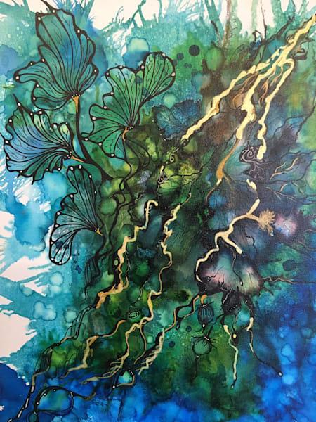 Teal Art | Art With Judy Ann