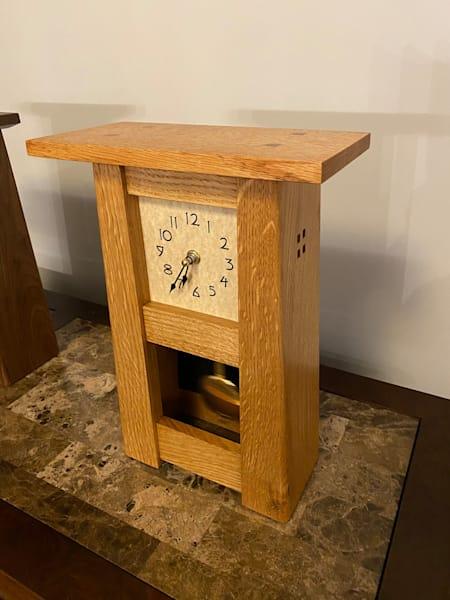 Mantle Clock, Mission, Oak