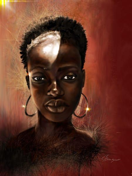 Ms. Gabon 2017 Art | Carlos Burgess Arts & Creative Works LLC