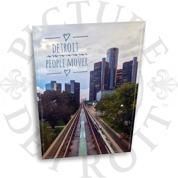 Detroit People Mover Renaissance Center Magnet | Picture Detroit