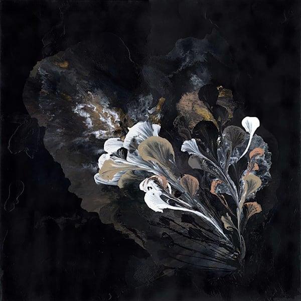 Blooming In Darkness Art | Carlos Burgess Arts & Creative Works LLC