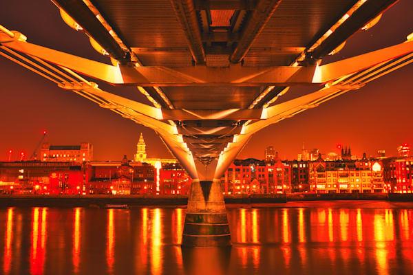 Bridge Of Fire Art | Martin Geddes Photography