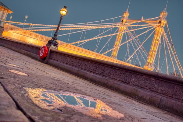 London's puddles