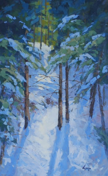Tranquil Forest Art   Gary Gore