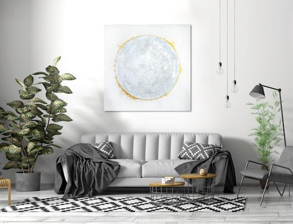 Snow Moon Art | K. Randall Wilcox Fine Art