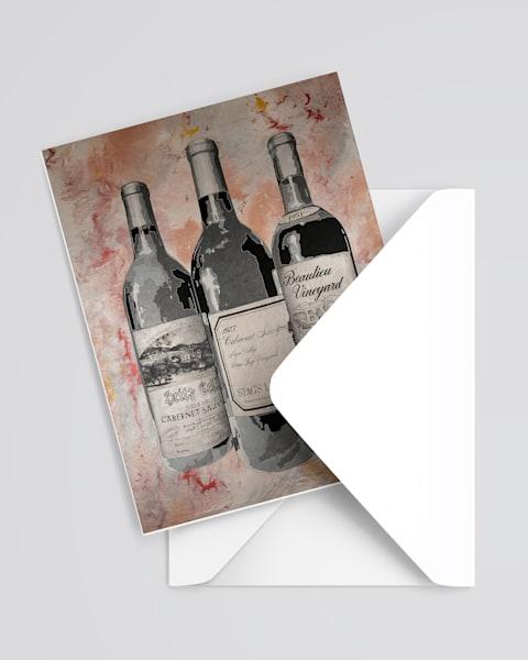 Greatest American Wine Greeting Card