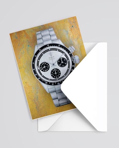 Rolex Cosmograph Daytona Greeting Card