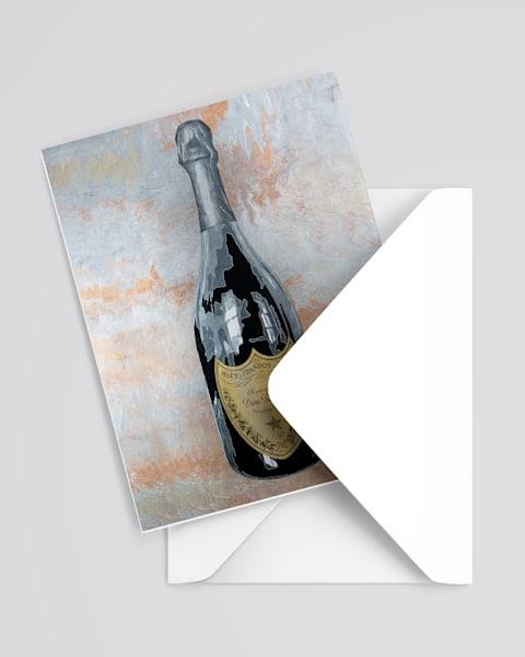 Dom Perignon Greeting Card