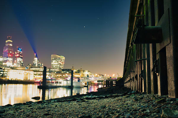 Low Tide In Southwark Art | Martin Geddes Photography