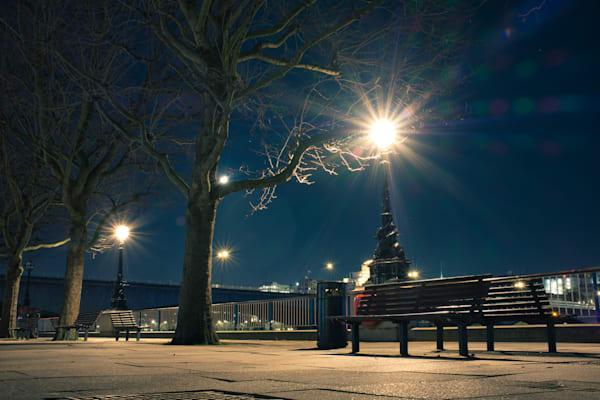 Winter Nighttime Blues Art | Martin Geddes Photography