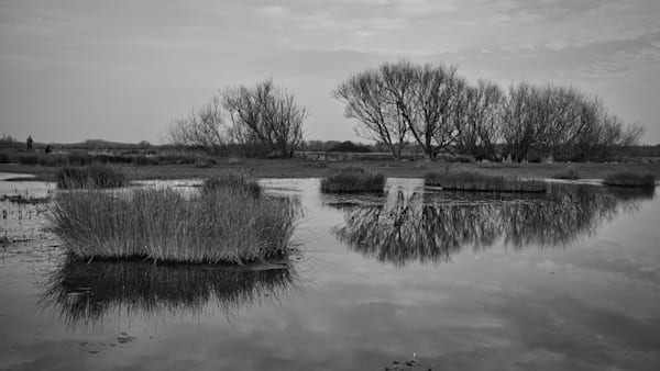 Floodwater On Staines Moor Art | Martin Geddes Photography