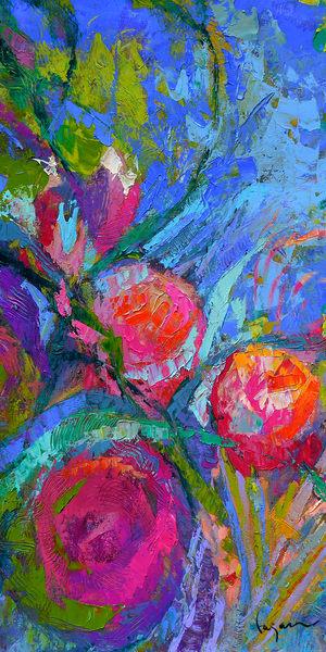Peony Passion Ii Art | Dorothy Fagan Joy's Garden