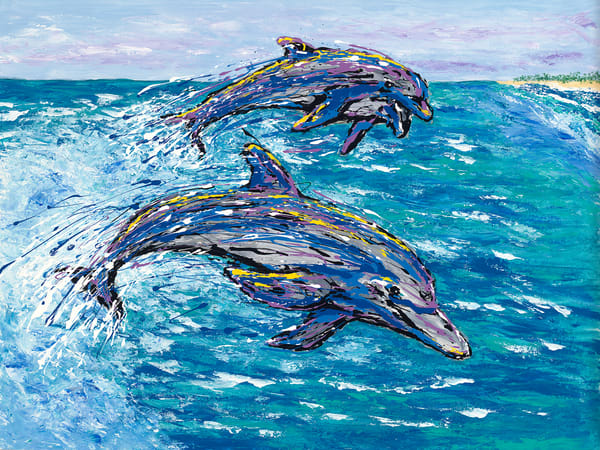 "Camera Setup: ""BetterLight 6150 | IR 2mm | HID Buhl"", Artwork Image: ""Pouncey, Dolphins, scan.tif"", Artwork Colors: ""Oil Paints.txt"", White Image: ""Pouncey, Dolphins, whitescan.tif"", White Colors: ""Foamcore White.txt"", Yoked Image: ""Pouncey, Dolphin"