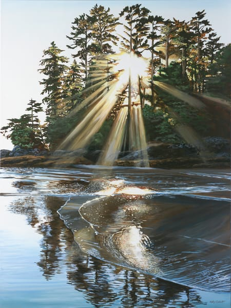 Exalt, open edition print inspired by Schooner Cove in Tofino BC