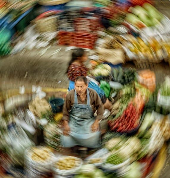 Green Grocer Inner Circle Art | Danny Johananoff