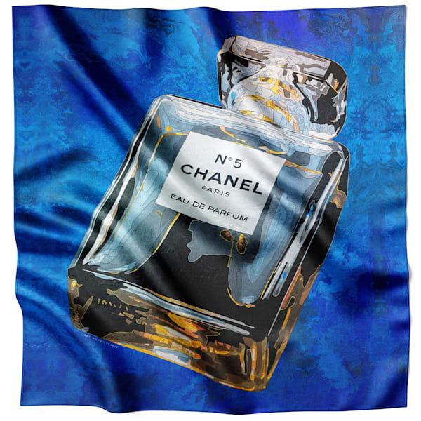 Chanel #5, Night Blue Scarf   Ineffable Art
