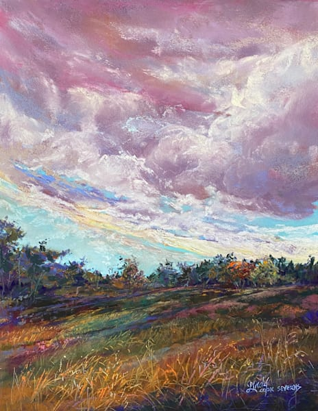Lindy Cook Severns Art | Colors of the Wind, original pastel