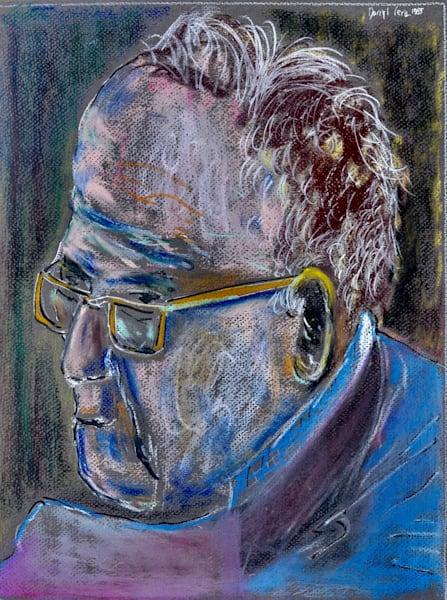 'reader Blue' Art | Cera Arts