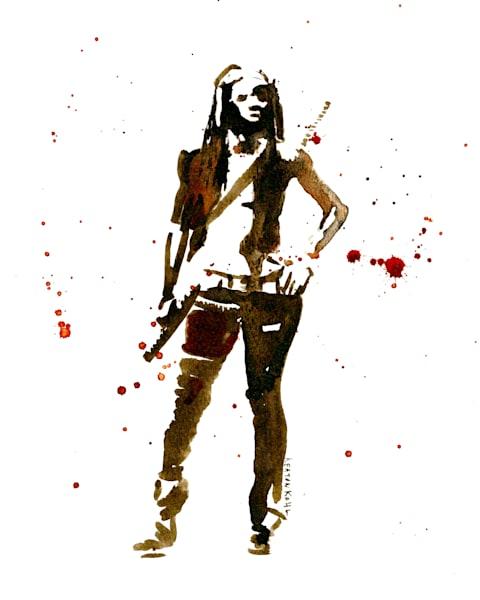 Michonne 1 Art   Sunrise Galleries