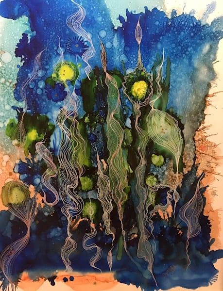 Kelp Dance Art   Art With Judy Ann