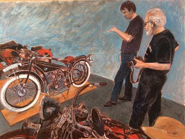 Vintage Motorcycle Installation Art | New Orleans Art Center