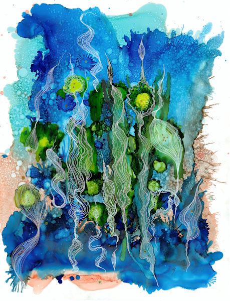 Kelp Dance Hd Art | Art With Judy Ann