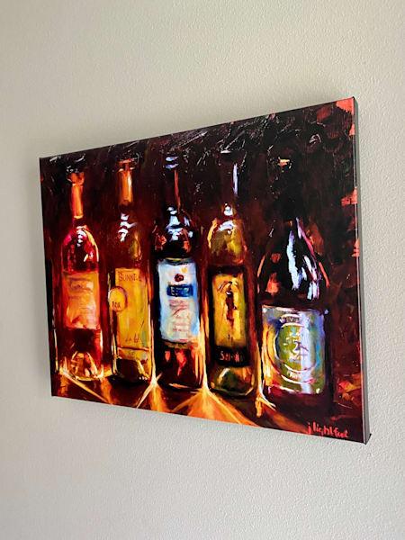 The Locals, Canvas Print Art | Jamie Lightfoot, Artist