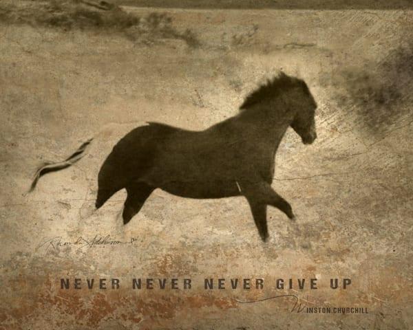 Galloping Horse Inspirational