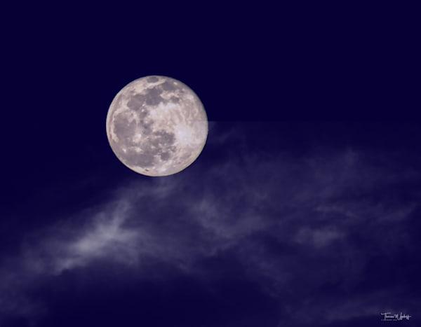 Snow Moon, Wheaton, 2021