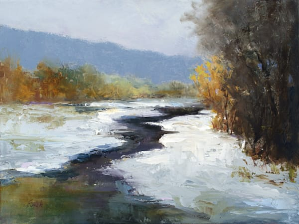 Fresh Snow Art | SHEILA FINCH FINE ART