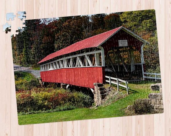 Barronvale Covered Bridge Puzzle
