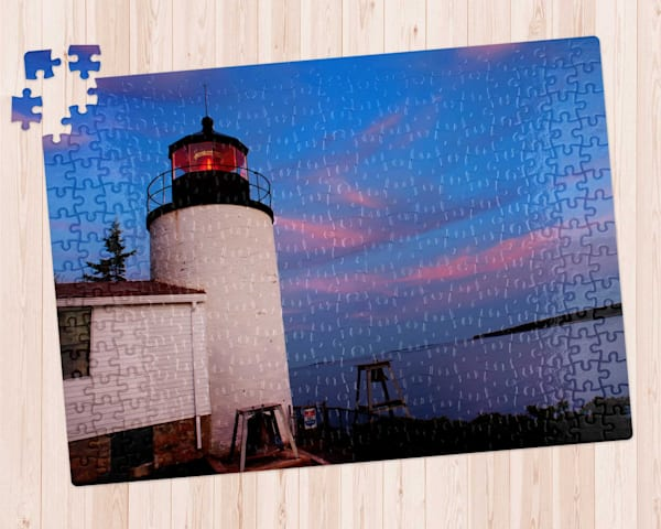 Bass Harbor Maine Headlight 300 pc. Puzzle
