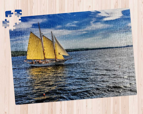 Ketch in Rockland Maine 300 pc. Puzzle