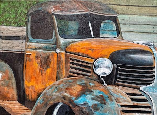 Old Truck 7 Art | Skip Marsh Art
