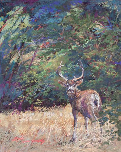 Lindy Cook Severns Art | King of the Mountain, print