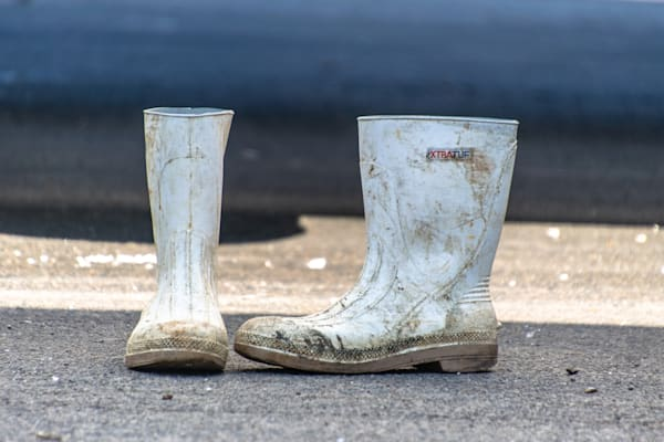 Fishermen's Boots Photography Art | The Colors of Chatham