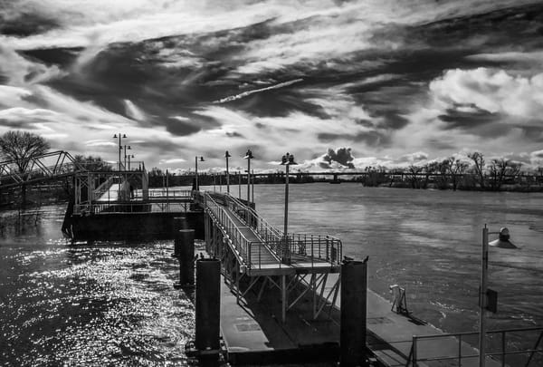 Rain Swollen Sacramento River Art | Patrick Cosgrove Art and Photography