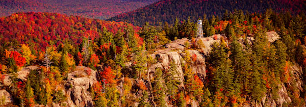Bald Mt Fall Aerial 13 Panoramic Photography Art | Kurt Gardner Photogarphy Gallery