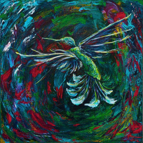 """""""Garden's Surprise/ Hummingbird"""""""