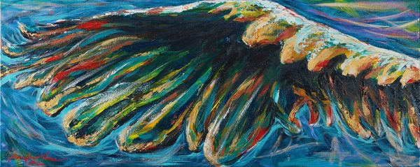 """""""Right Wing Of A Great Eagle"""" Art 