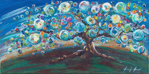 Bubble Tree Joy Art | glimpsesofglory