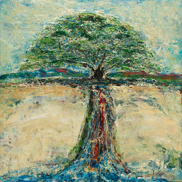 """As A Tree Planted; Psalm 1"" Art 